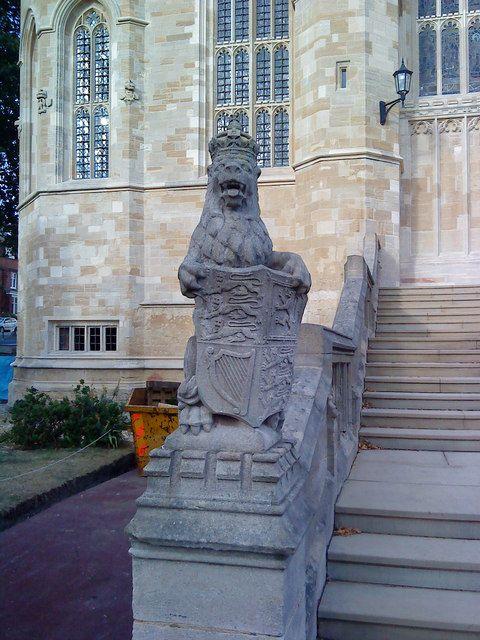 Lion at St. George's Chapel, Windsor