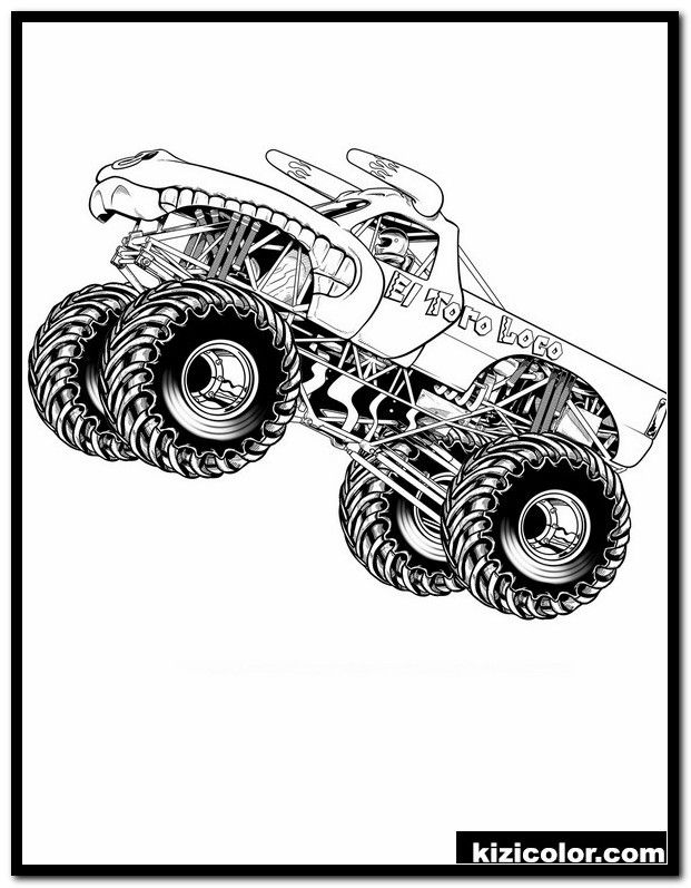 Dragon Monster Truck Coloring Page Youngandtae Com In 2020 Monster Truck Coloring Pages Cars Coloring Pages Truck Coloring Pages