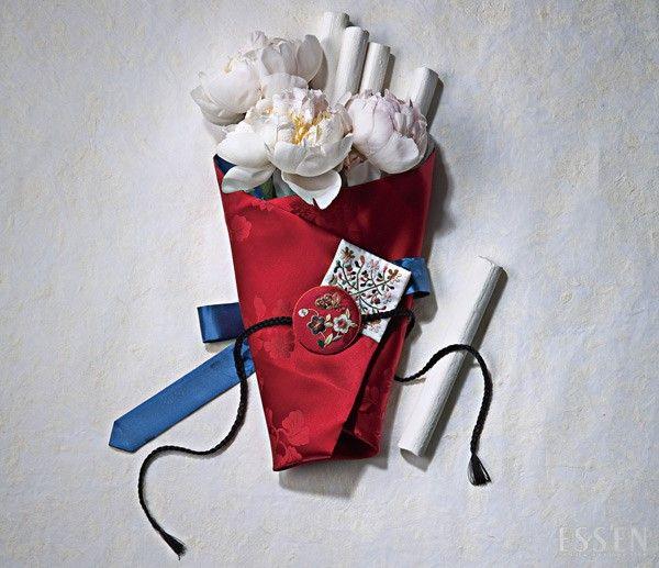 Korean traditional gift(money)-wrap from ESSEN 돈보 프롬 에센