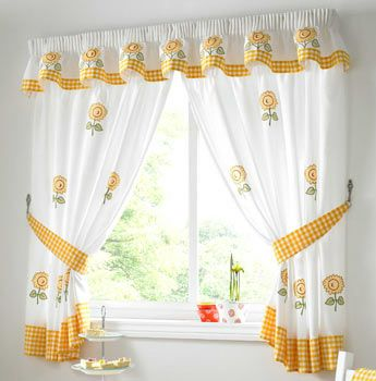 189 best cortinas images on Pinterest Kitchen curtains, Curtain