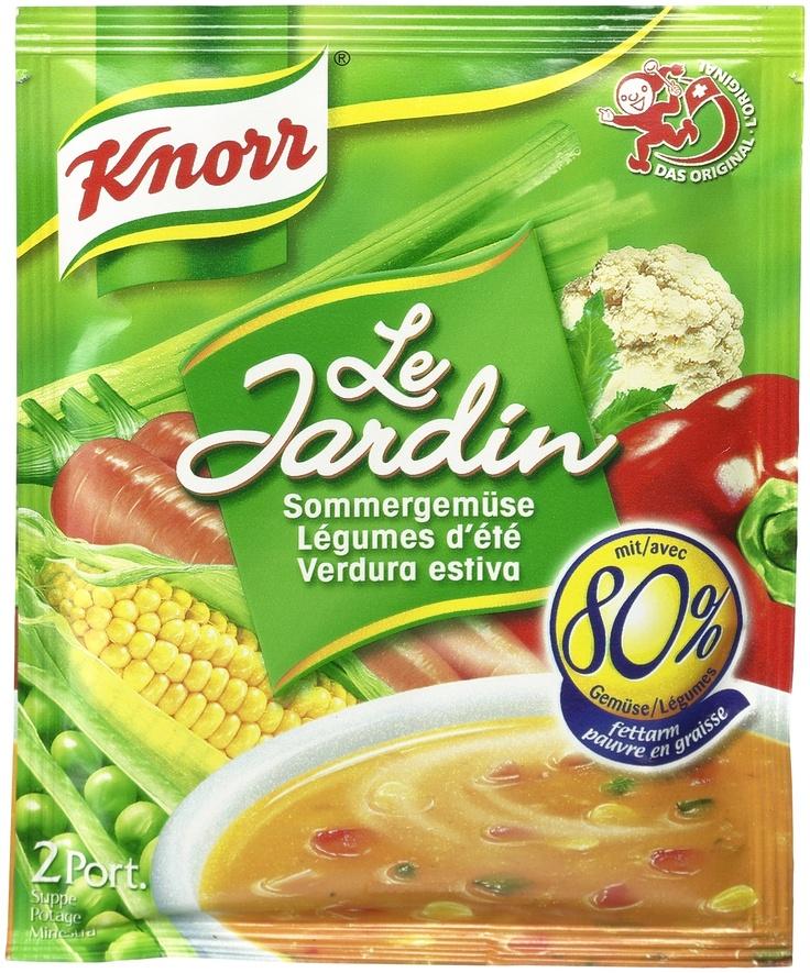 ¨UNILEVER Knorr, Switzerland¨  Packaging Design by Daniel Wermuth / wermuthgrafik ©2012  http://www.wermuthgrafik.ch