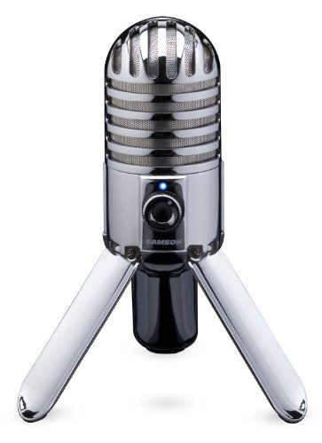 #christmas  A universal solution to recording music on your computer Fold-back leg design looks amazing on your desktop. #View larger #Meteor Mic is the universal...
