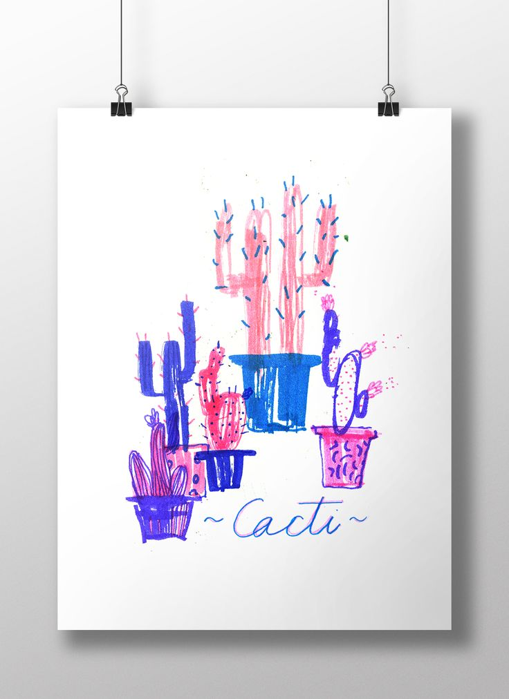 Cacti - roksana robok 2015