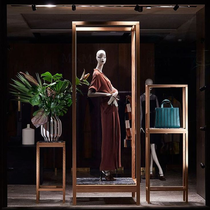 """MAXMARA,London, UK, """"Hello... I would like to take this opportunity to introduce and celebrate the arrival of the Dark Green Whitney Bag"""", pinned by Ton van der Veer"""
