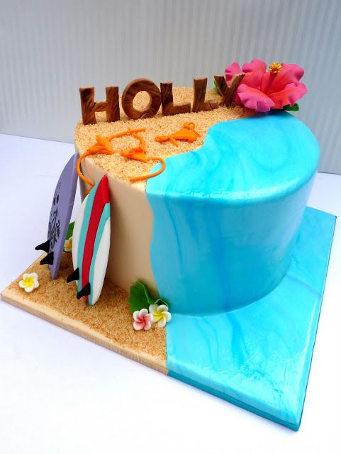 Vanilla Lily Cake Design: birthday