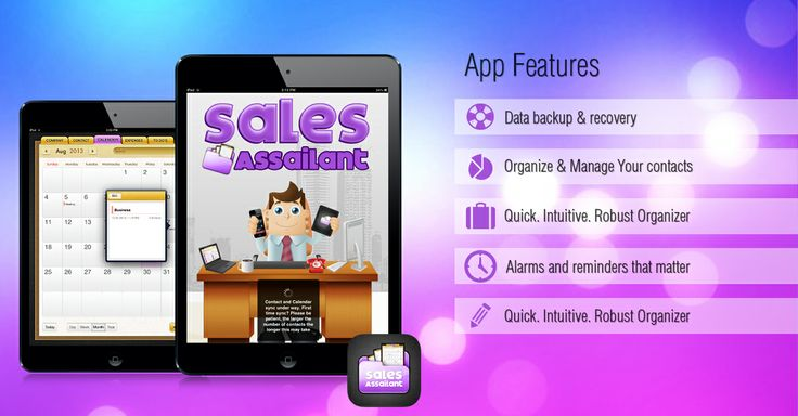 """""""A #sales management tool for sales people by sales people""""  Download this App from iTune Store Now http://georiot.co/SalesAssailant"""
