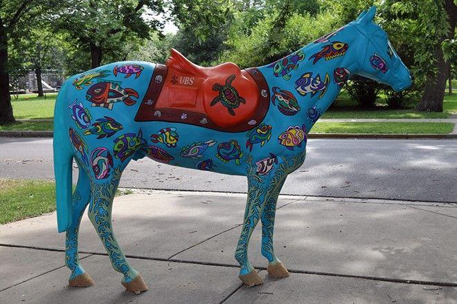 Horses of Honor Public Art | Chicago Police Memorial Foundation