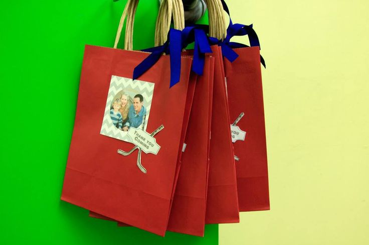 Personal party favour bags