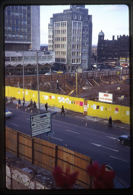December '72 I found a piccy of them building the Arndale, I am one happy girl :)