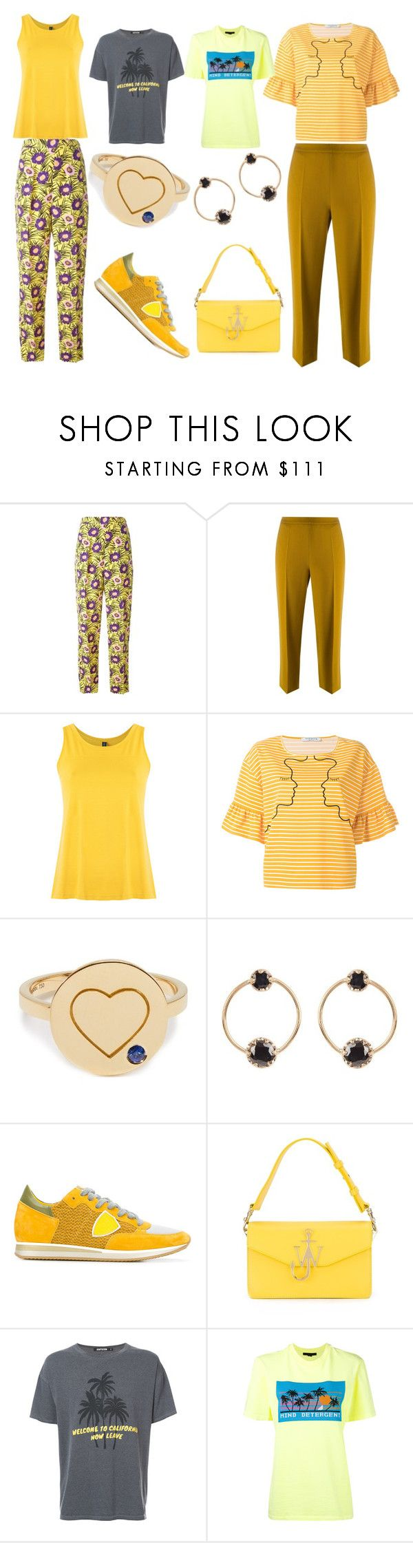 """""""Casual Style"""" by justinallison ❤ liked on Polyvore featuring Marni, Odeeh, Lygia & Nanny, VIVETTA, Aurélie Bidermann, Loren Stewart, Philippe Model, J.W. Anderson, Adaptation and Alexander Wang"""