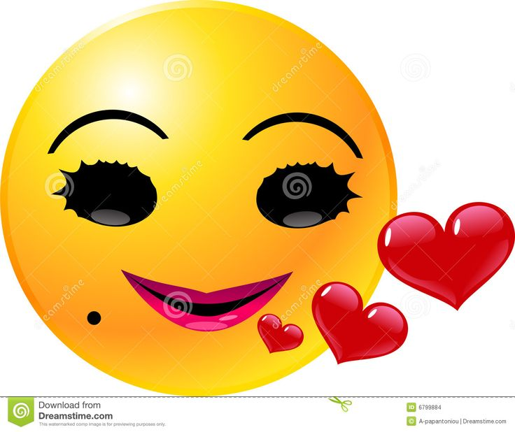 Emoticon Smiley Face Love Royalty Free Stock Images - Image: 32667739