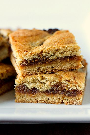 Fig  cookie bars from Browned Eyed Baker. I made these a few months ago and they are wonderful. Have to make them again, soon!