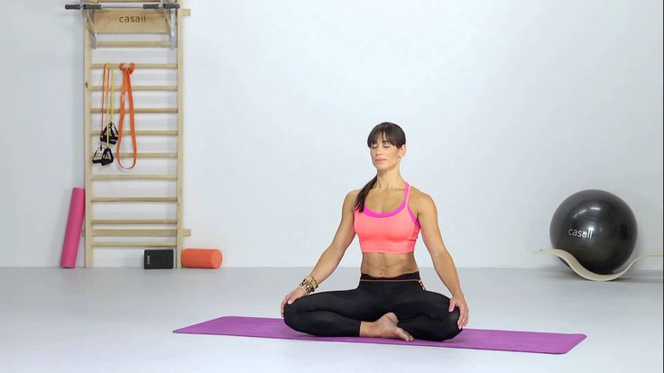 Yoga - Seated Crossed Legs