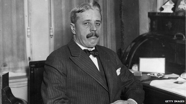 Arnold Bennett--Stupid headline, but I want to read some of his books if I can find them...