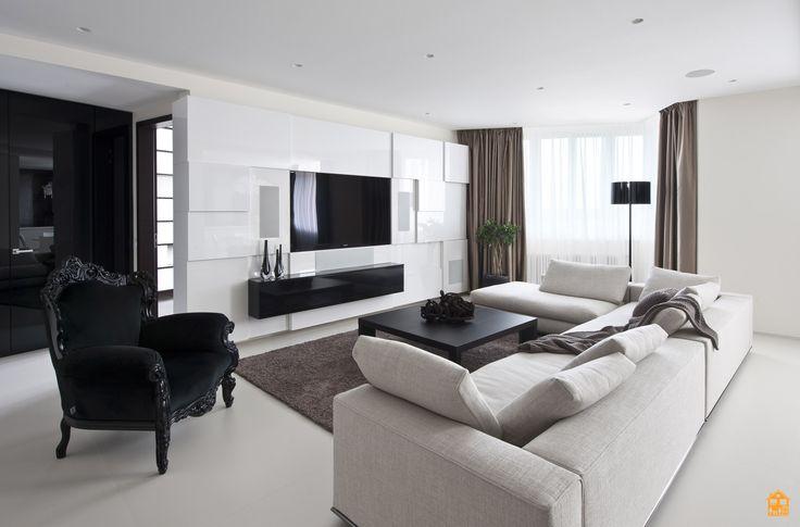 Лучшие интерьеры гостиной