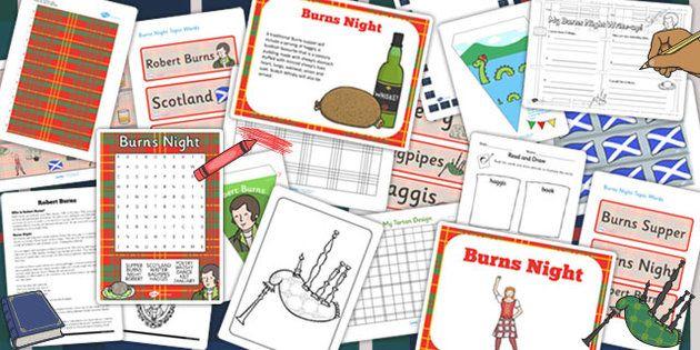 Burn's Night Resource Pack 2015