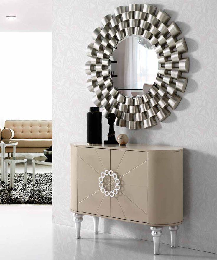 17 mejores ideas sobre espejos modernos en pinterest for Espejos plateados modernos