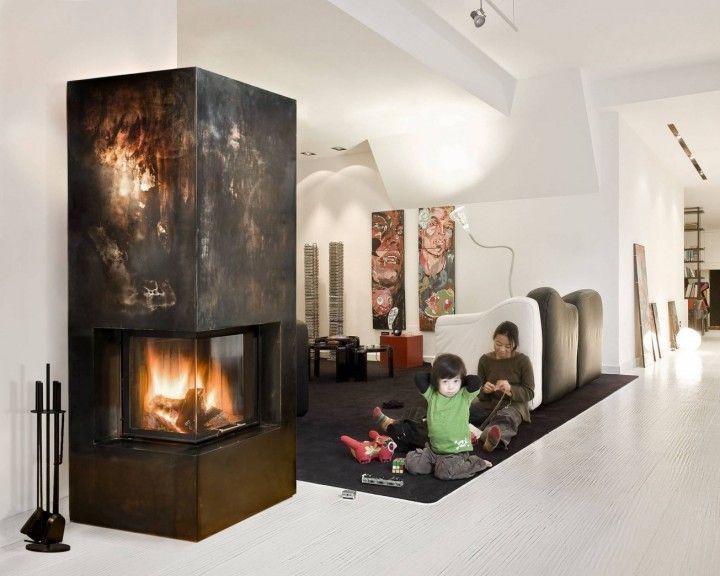 """Über 1.000 ideen zu """"contemporary fireplace screens auf pinterest ..."""