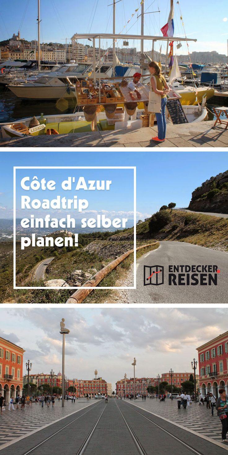 Côte Du0027Azur Roadtrip Einfach Selber Planen   So Gelingt Die Individuelle  Reiseplanung In Südfrankreich