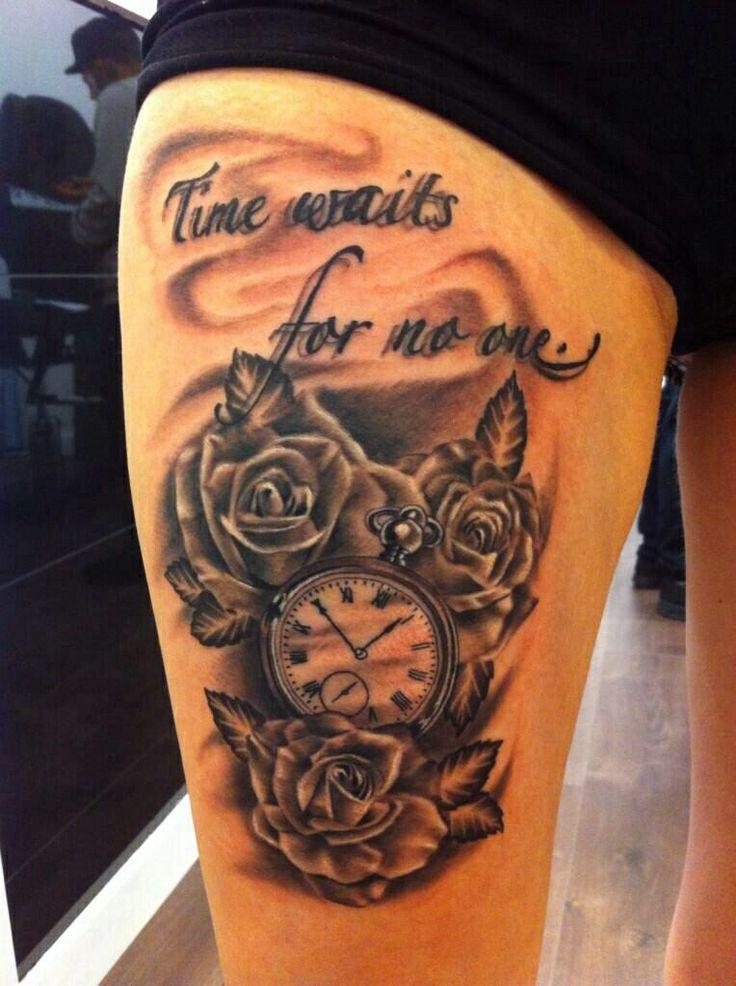 Time Waits For No One Tattoo Unifeedclub