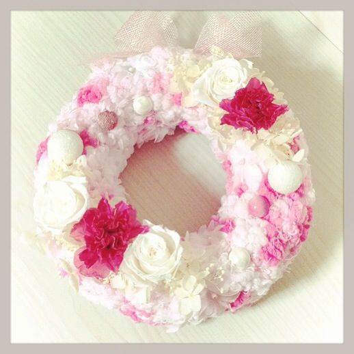 puffy wreath