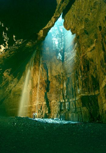 Gaping Gill Cave Entry ~ North Yorkshire, England