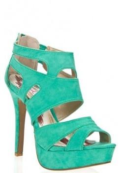 women high heel sandals  green , blue , black , pink style  women summer heels