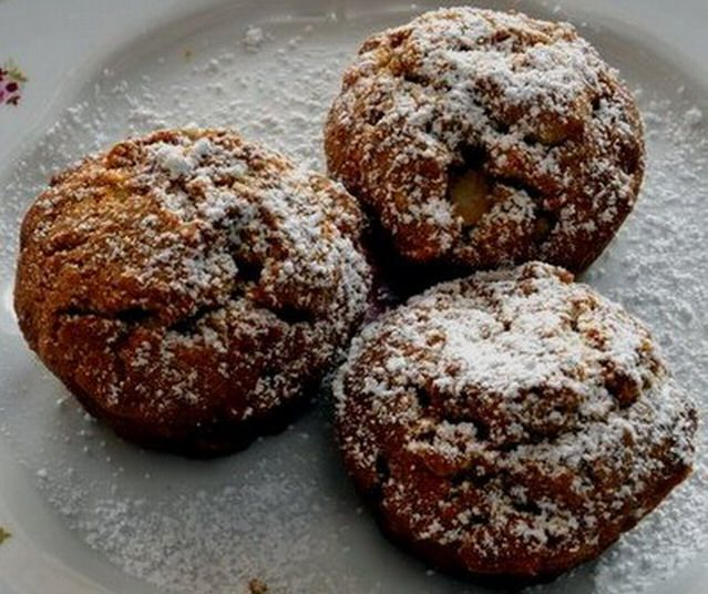 Gyors diós-almás bögrés muffin - www.kiskegyed.hu