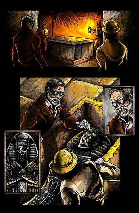 Bloodlust 1. szám, 3. képregényoldal