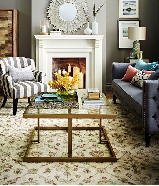 19 best fireplace decor homesense images on pinterest for Coffee tables homesense