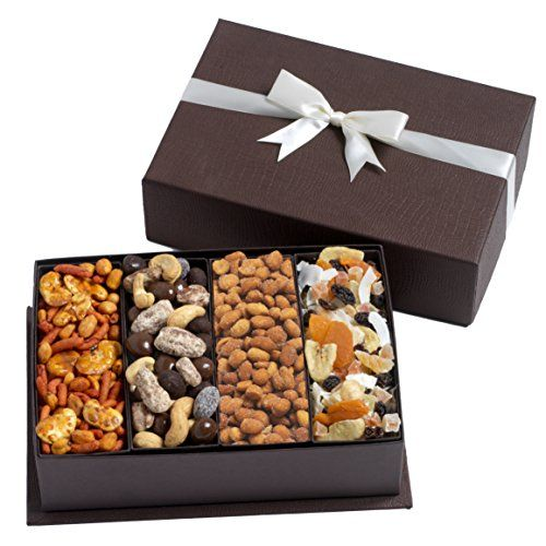 Gourmet Fruit and Nut Gift Tray - A Healthy Gift Idea by Broadway Basketeers Broadway Basketeers http://www.amazon.com/dp/B002U1XOG4/ref=cm_sw_r_pi_dp_H31uwb0KB9NZM