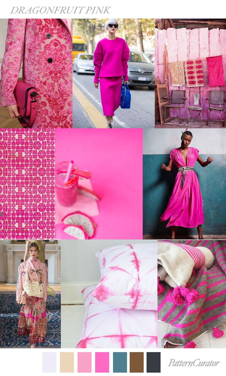 DRAGONFRUIT PINK by PatternCurator