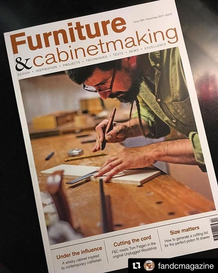 Next months F&C Magazine... repost-;) @fandcmagazine l The December issue #264 is on the newsstands now with @lacabraenlaescalerfeatured on the cover. Also featuring @theunpluggedwoodshop @scott_horsburgh  and winner of the Richard Seager Annual Arts Award Caroline Reichert #fandcmagazine #theunpluggedwoodshop #anunpluggedlife #woodworking #handtools