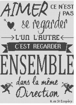 "Affiche ""Ensemble"""