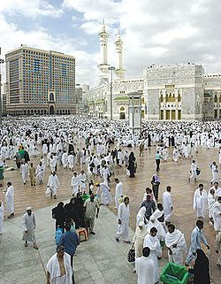 Mecca- A city where the Islamic prophet Muhammad captured it and was declared the holiest site of Islam