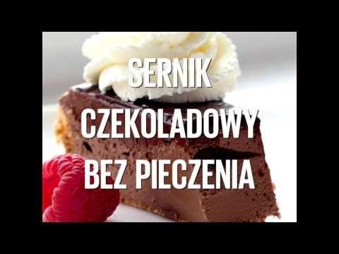 Sernik czekoladowy bez pieczenia | Kwestia Smaku