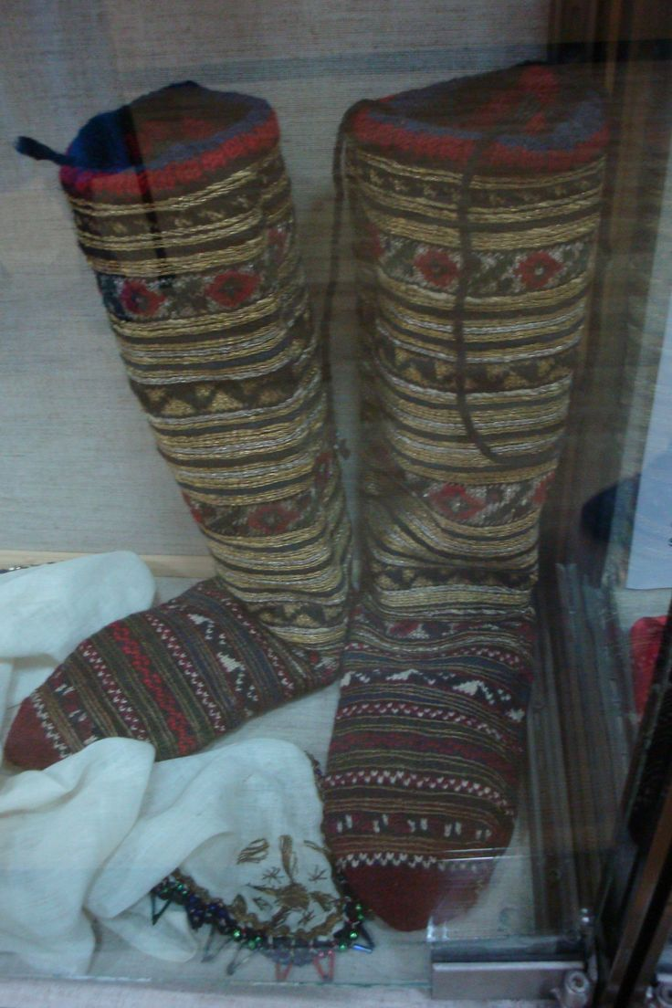 Man's ornate boots
