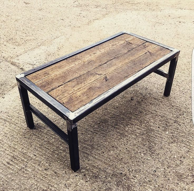Fabricated Steel Coffee Table: 25+ Unique Welding Projects Ideas On Pinterest