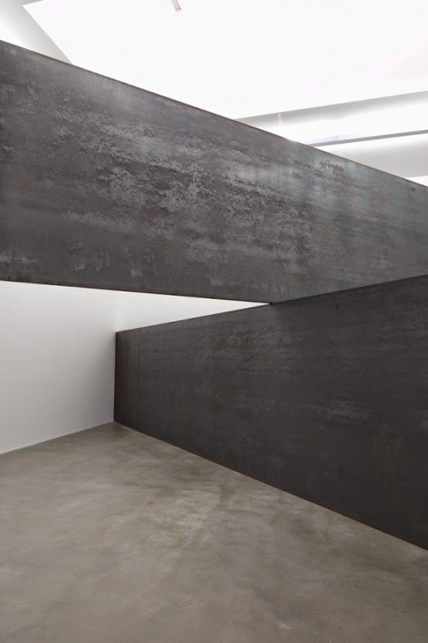 Richard Serra, Exhibition of recent work, London | Gagosian Gallery