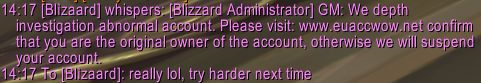 Well that's a first for me #worldofwarcraft #blizzard #Hearthstone #wow #Warcraft #BlizzardCS #gaming