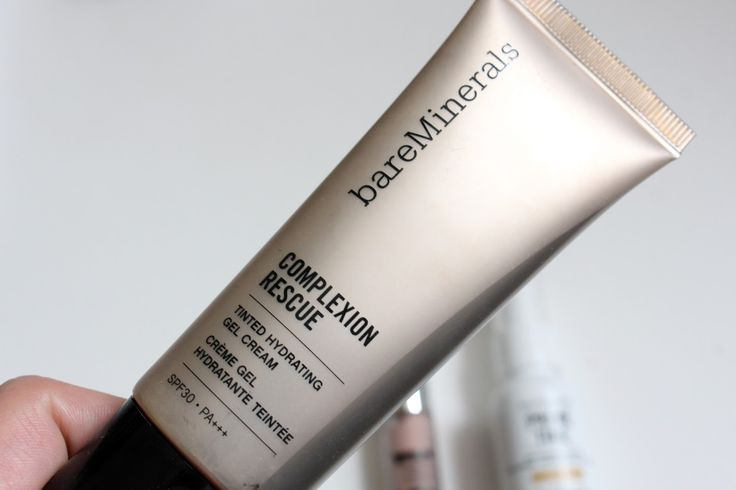 I'd highly recommend Bare Minerals Complexion Rescue if you are a fan of minimal coverage on your face! Also has SPF 30.