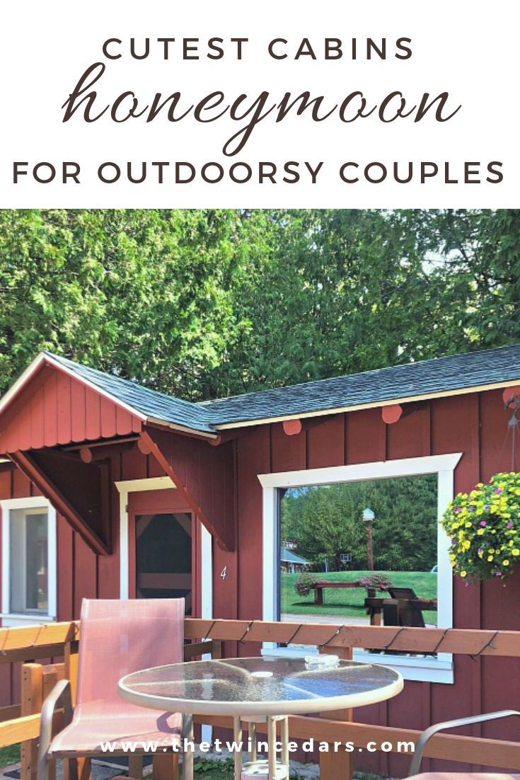 The Best Honeymoon Cabins For Couples Who Love The Outdoors