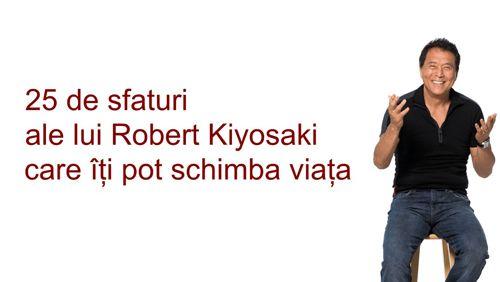 Robert Kiyosaki este unul dintre cei mai cunoscuţi oameni de afaceri americani. Investitor de succes, autor şi speaker, Robert Kiyosaki a devenit celebr