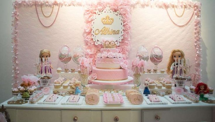 Princess Disney Birthday Party Ideas   Photo 1 of 18   Catch My Party