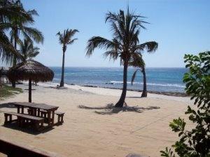 Pemba Beach in Mozambique