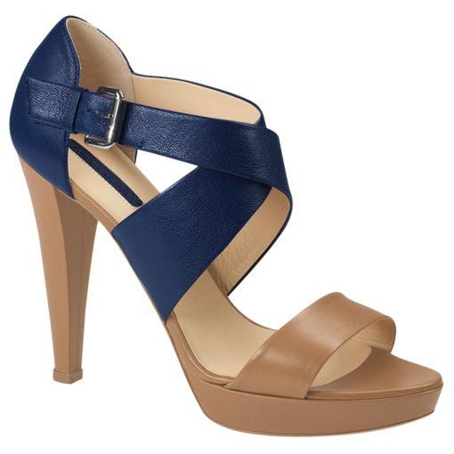 High Heel Sandals - Le Pliage Cuir.