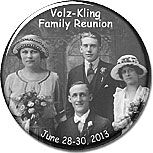 Family Reunion Favors Idea - Personalized Photo Magnets - or Key Rings, Buttons or Pocket Mirrors - with a picture of an ancestor. More family reunion favors at http://www.photo-party-favors.com/family-reunion-favors.html