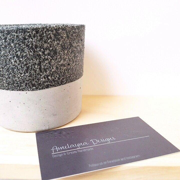 Granite planter! New to Amelayna Designs