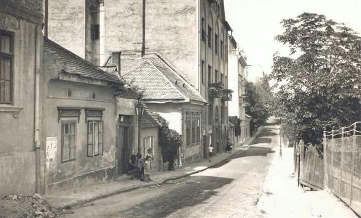 19201as évek. Naphegy utca.