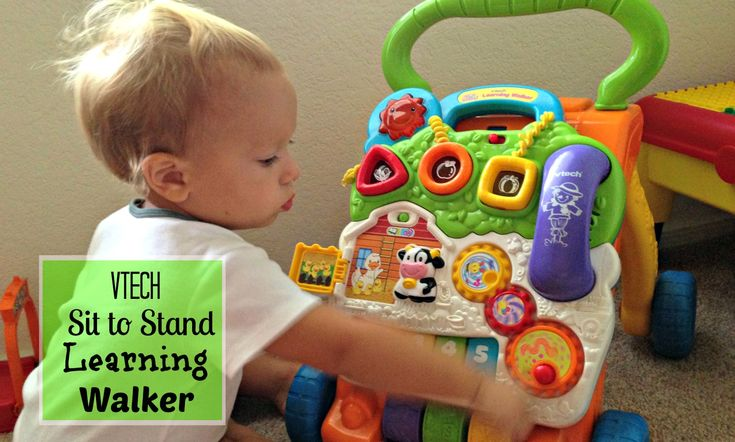 The Vtech Sit To Stand Learning Walker Is The Best Toy For